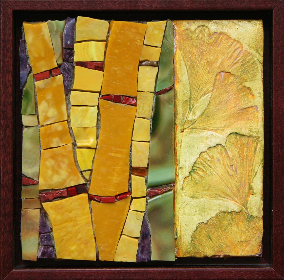 "Pam Stratton, ""Bamboo"", 6""x6"""