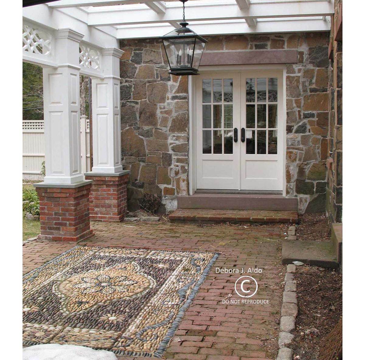 Deb Aldo, Persian Pebble Carpet