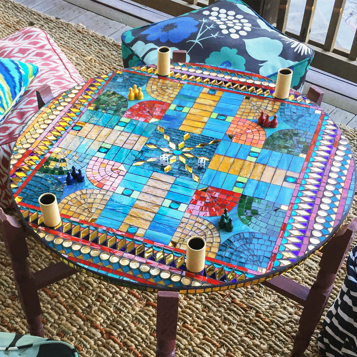 Cathleen Newsham, Persian Parcheesi Game Board