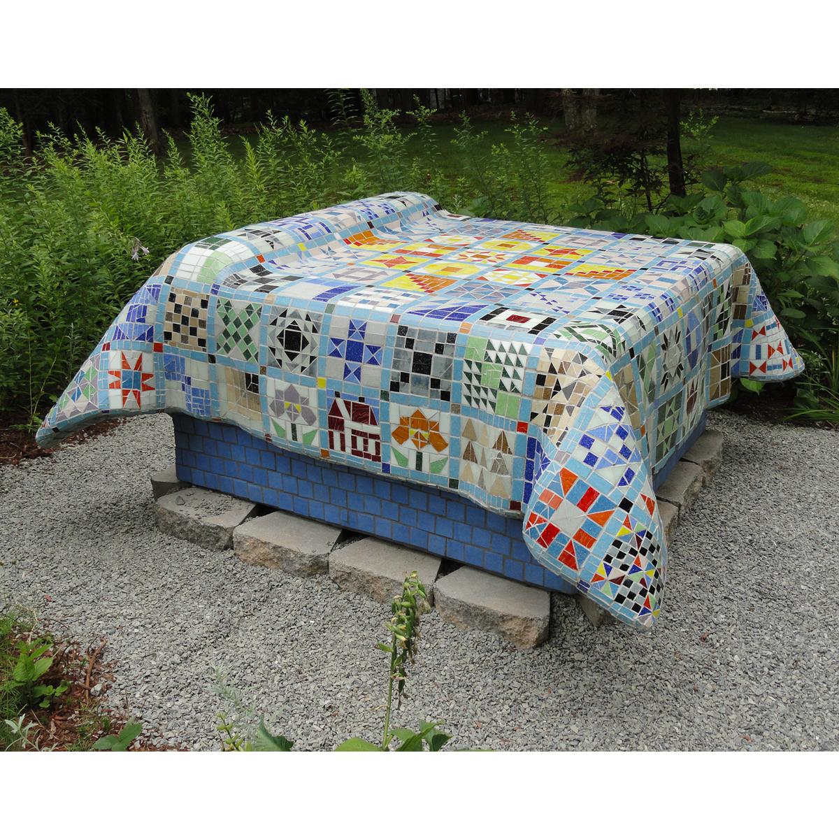 "Carol Krentzman, ""Garden Bed"", 5'x5'x2.5'"