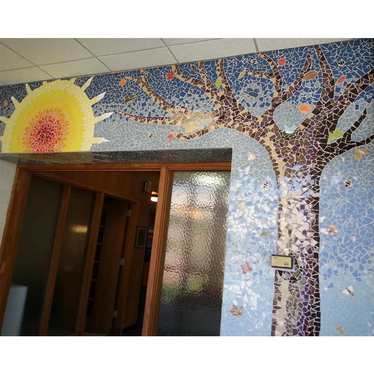 "Carol Krentzman, ""Sunshine"" Jackson School Lobby, 58 sq ft"