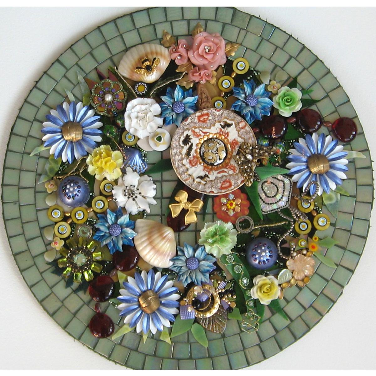"Pat Krusko, ""Found Flowers"""